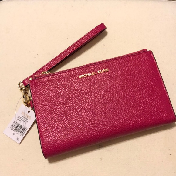 f639205da19a MICHAEL Michael Kors Bags | Adele Leather Smartphone Wallet In Ultra ...